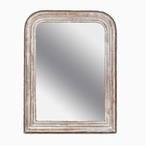 Silvered French Mirror, 1890