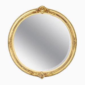 Gilded Circular Mirror, 1920