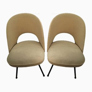 ST652 Dining Chairs by Günther Eberle for Thonet, 1953, Set of 2