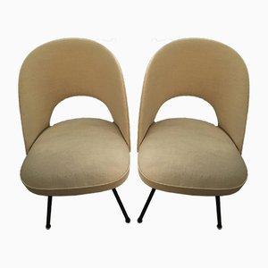 ST652 Esszimmerstühle von Günther Eberle für Thonet, 1953, 2er Set