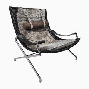 Lounge Chair Model DES2021 by Gerard van den Berg for Rohé Noordwolde, 1980s