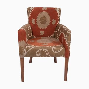 Suzani Traditional Bergere Chair