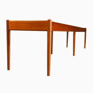 Dänische Mid-Century Sitzbank aus Palisander von Johannes Andersen, 1960er