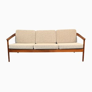 Vintage Swedish Teak Colorado 3-Seat Sofa by Folke Ohlsson for Bodafors