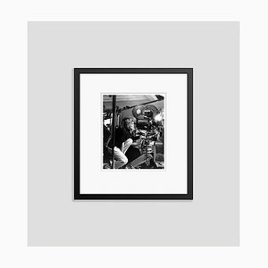 Katharine Hepburn on Set Archival Pigment Print Framed in Black by Everett Collection
