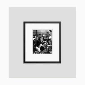 Katharine Hepburn on Set Archival Pigment Print Framed in Black by Everett Collection