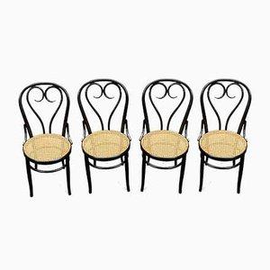 Chaises de Salon Antique Heart par Michael Thonet pour Gebrüder Thonet Vienna GmbH, Set de 4