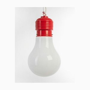 Moderne Vintage Deckenlampe in Birnenform, 1970er