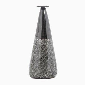 Vintage Modern Murano Glass Vase from Vetrerie Artistiche Oball, 1980s