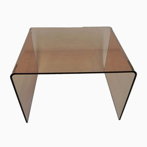 Plastic Plexiglass Coffee Table, 1970s