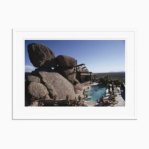 Bouldereign Oversize C Print Framed in White by Slim Aarons