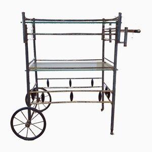 Chariot à Boissons Art Déco Vintage