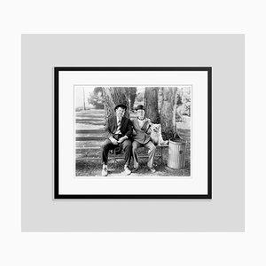 Laurel and Hardy Archival Pigment Print in Schwarz von Bettmann