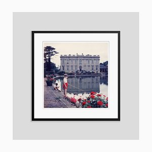 Boy Baron Oversize C Print Framed in Black by Slim Aarons