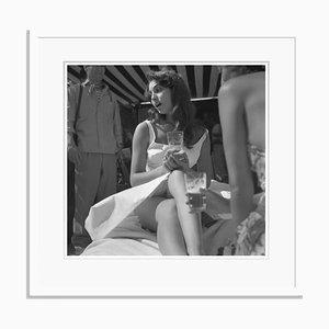 Rosanna Archival Pigment Print Framed in White