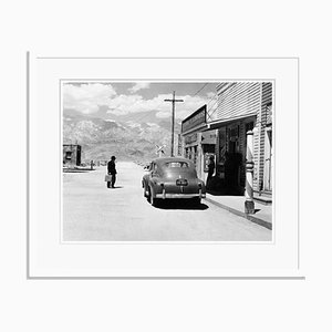 Bad Day at Black Rock Archival Pigment Print Framed in White