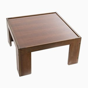 Vintage Rosewood Coffee Table by Tobia & Afra Scarpa for Cassina, 1970s