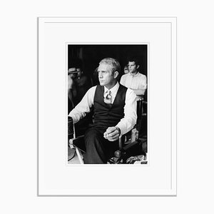 Thomas Crown Silver Gelatin Resin Print Framed in White by Hulton Archive