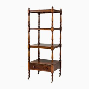 4-Tier Rosewood Stand, 1820s