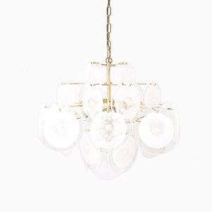 Murano Glass Chandelier by Vistosi, 1960