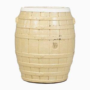 Antique Pottery Barrel, 1900
