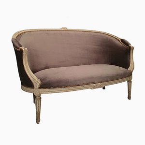 18th Century Louis XV Louis XVI Transition Period Bergere Sofa