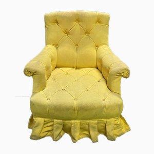 Vintage Napoleon III Style Lounge Chair