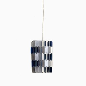 Facet Hanging Lamp by Louis Weisdorf for Lyfa, 1960s