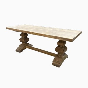 Solid Oak Monastery Table