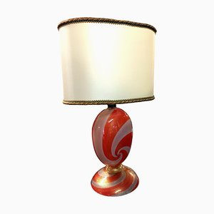 Murano Glass Table Lamp by Archimede Seguso, Italy, 1960s