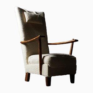 Stuhl mit Hoher Rückenlehne von Bas van Pelt, 1930er