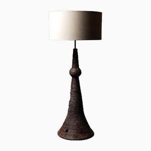 Large Ceramic Lamp, 1970s
