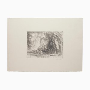 Redemption Etching by Riccardo Tommasi Ferroni, 1970s