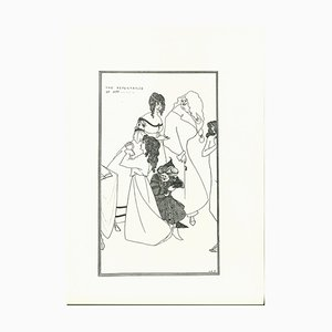 The Repentance of Mrs Lithograph by Aubrey Vincent Beardsley, 1970