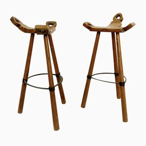 Spanish Brutalist Bar Stool, 1970s
