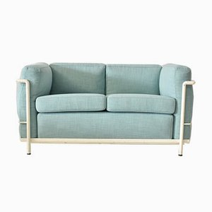 Vintage LC2 Sofa from Cassina, 1950s