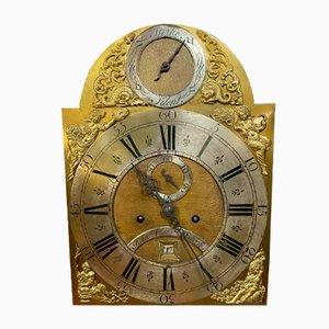 Vergoldete Bronze Uhr aus 18. Jhdt. Von John Vise