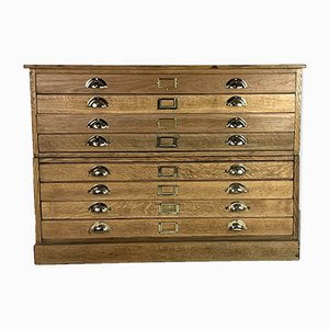Vintage Architect's Chest of Drawers