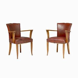 Bridge Chairs, 1950s, Set of 2