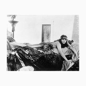 Theda Bara Archival Pigment Print Framed in Black
