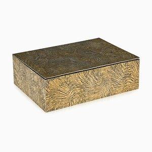 20th Century Silver-Gilt Samorodok Cigar Box from Tiffany & Co, 1970s