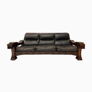 Mid-Century Model Ussaro Sofa by Luciano Frigerio, 1960s