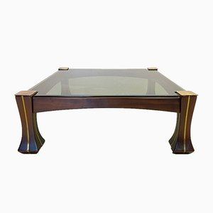 Mid-Century Model Ussaro Coffee Table by Luciano Frigerio, 1960s