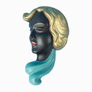 Wandmaske, 1950er