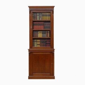 Viktorianisches Bücherregal aus Mahagoni