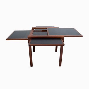 Small Dining Table with 4 Extensions, 1979