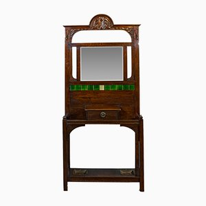 Antique English Hall Stand