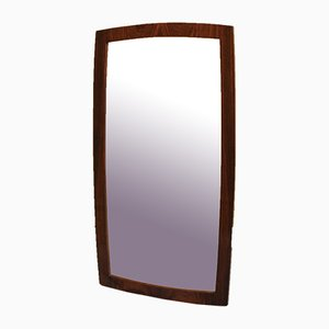 Danish Rosewood Mirror, 1950s