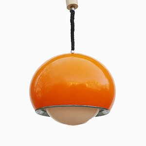 Large Mid-Century Modern Italian Model 3030 Bud Pendant Lamp by Studio 6G for Guzzini, 1970s