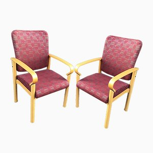 Armchairs from Hiller, 1980s, Set of 2